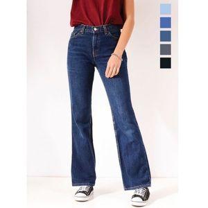 Levi's 517 Vintage Dark Blue Flare Jeans